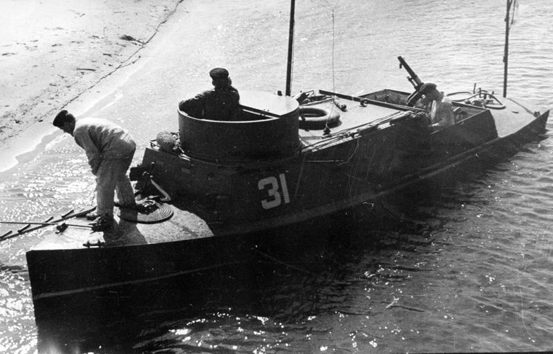 BK2 gunboat