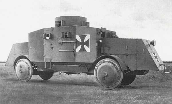Büssing German Armored Car