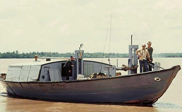 Command Junk of the Vietnamese Navy Coastal Force