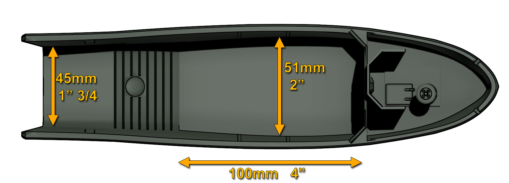 Deck sizes