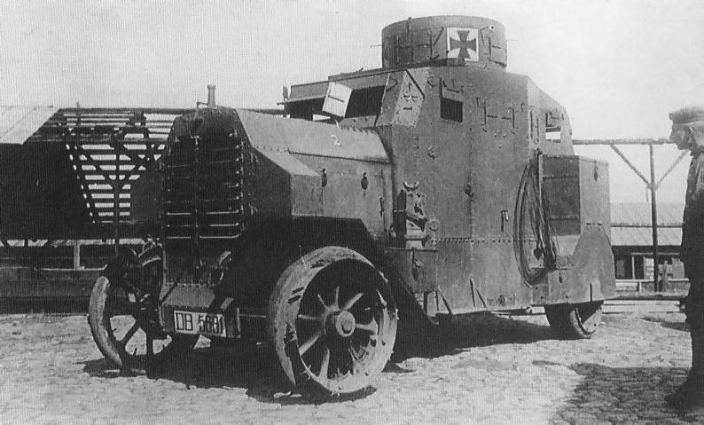 Ehrhardt E-V/4 Armoured Car