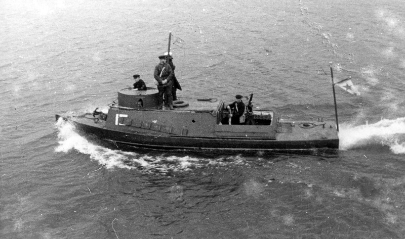 BK2 Soviet Gunboat