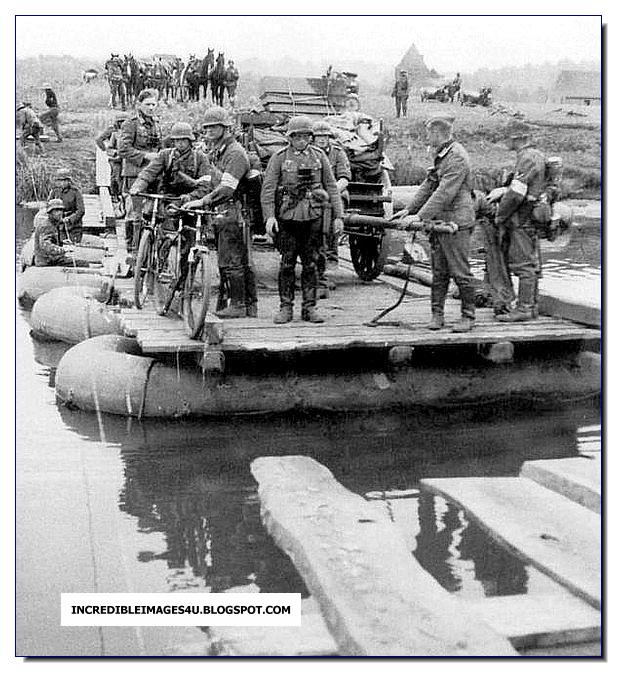 German Pioneer Pontoon