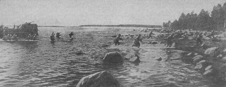 Soviet Tender used as Landing Craft